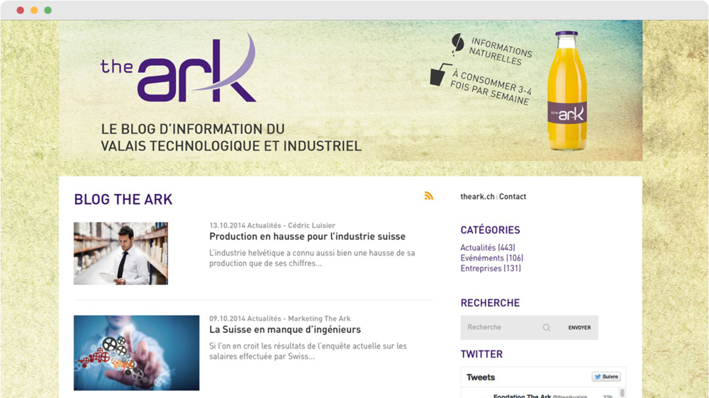 Blog The Ark