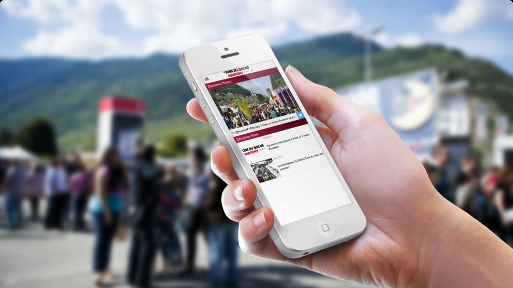 App Foire du Valais 2015