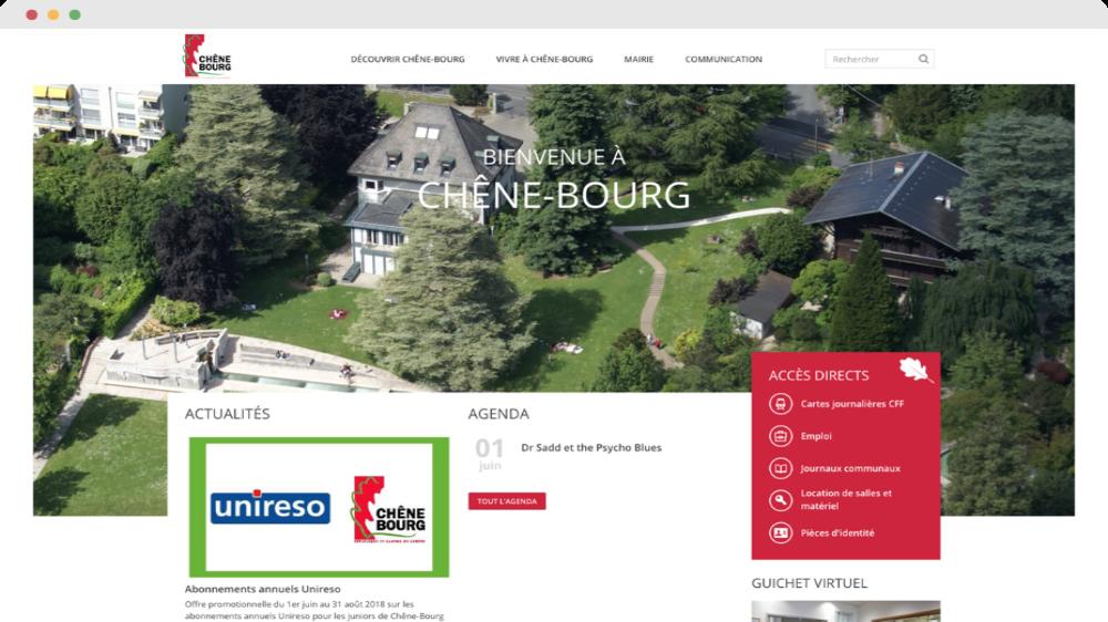 Commune de Chêne-Bourg