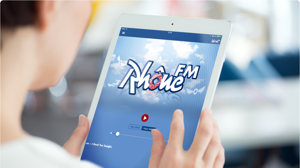 Application iPad Rhône FM