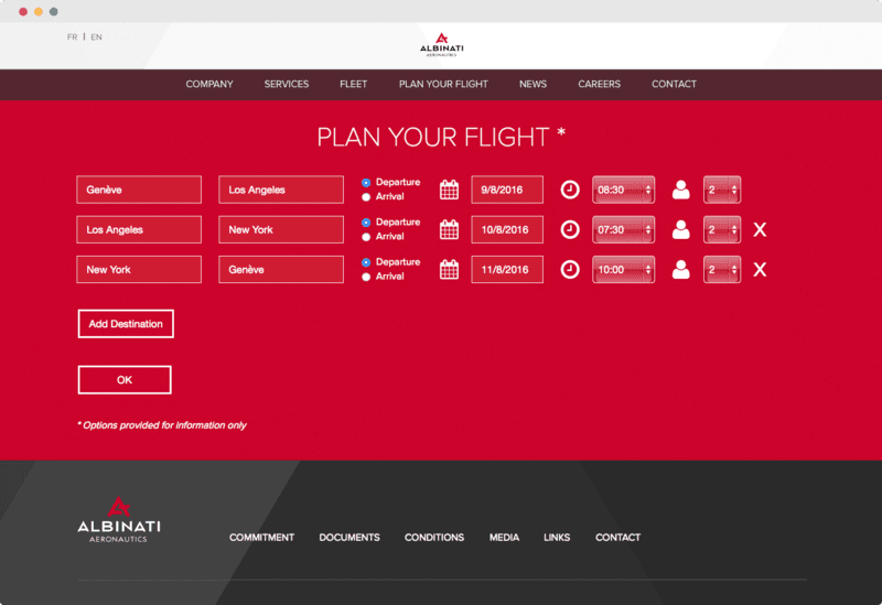 Plan your flight
