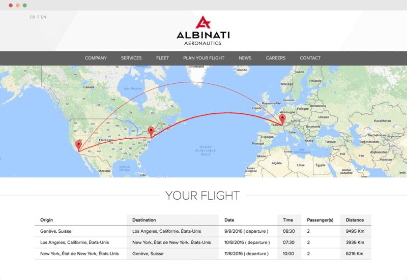 Plan your flight