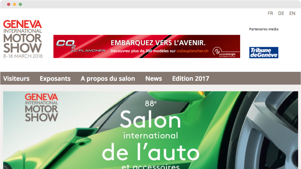 88ème Salon International de l'auto 2018