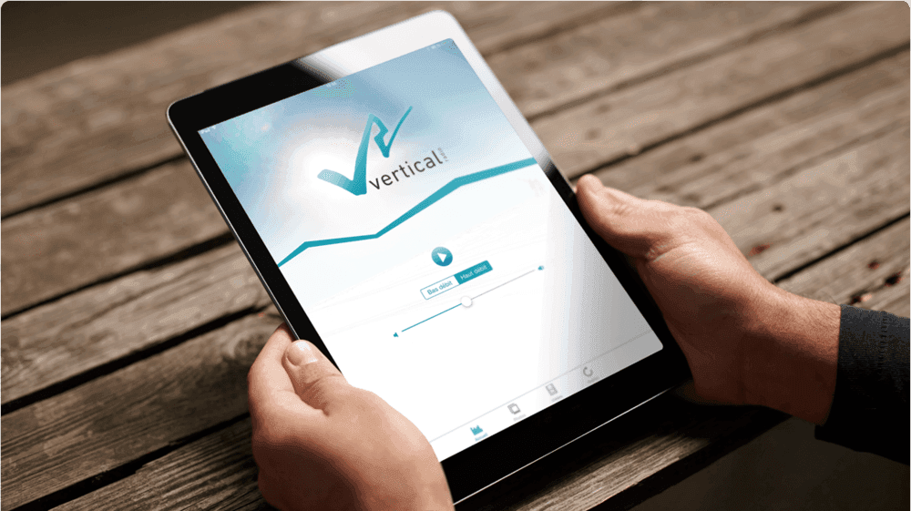 Application iPad Vertical Radio